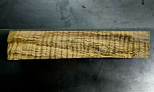 Curly Flame Spalted Tiger Maple Raw blank  Figured, Craft turning, carving wood