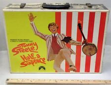 rare 1967 TOMMY STEELE - HALF A SIXPENCE movie promotional cardboard SUITCASE