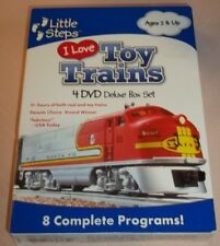 I Love Toy Trains (DVD, 4-Disc Set, 2009, Little Steps) New Unopened!