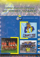 Programme / Magazine RKC Waalwijk no.2 seizoen 2004-2005