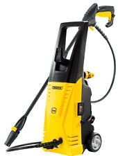 DRAPER 1700W YELLOW 135 BAR PRESSURE WASHER JET WASH CAR & HOME GARDEN CLEANER