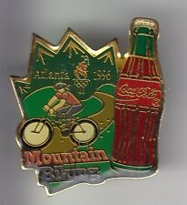RARE PINS PIN'S .. COCA COLA COKE VELO VTT CYCLING OLYMPIQUE OLYMPIC 1996 USA 17