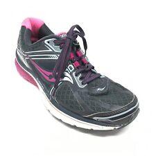 Women's Saucony Omni 15 Running Shoes Sneakers Sz 9 B Black Purple Athletic AB11