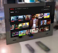"19"" 2021 Waterproof Bathroom LED Mirror FULL SMART ANDROID TV WIFI ETHERNET"