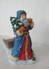PartyLite '' St. Nikolaus Pillar/ Candle Holder '' Gorgeous #P8571 Nib