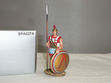 THOMAS GUNN SPA027A HOPLITE SENTRY WITH LAMBDA ON SHIELD METAL TOY SOLDIER