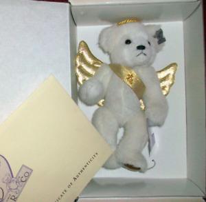 Annette Funicello Jill Angel Bear Gold Wings Heaven