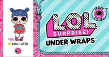 Lol Surprise Doll Eye Spy Under Wraps Series 4 Wave 2 Kawaii Queen Gold, Sealed!