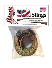 Rifle Sling Olive / Light OG Green - 2 Point Gun Sling