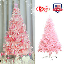 US! 4Ft Pink Artificial Christmas Tree Holiday Decoration Hotel Home Decor