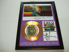 ELO   SIGNED GOLD CD  DISC  32
