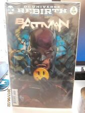 Batman #21 Lenticular 3D Variant Cover DC Comics Rebirth The Button 2017 VF+