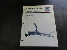 heavy equipment manuals books for new holland harvester ebay rh ebay com New Holland Tractor Packages Combine Harvester