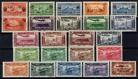G139056/ FRENCH SYRIA – YEARS 1936 - 1938 MINT MNH / MH SEMI MODERN LOT – 105 $
