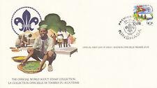 (14066) Zaire FDC Card Scouts Kinshasa 29 November 1982