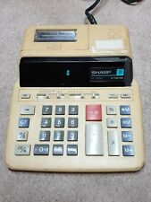 Vintage Sharp EL-1192G 10 Digit GT FunctIon Calculator,Accounting,Mathematics