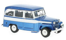 Jeep Willys Bleu/Blanc - 1960   Ixo 1/43