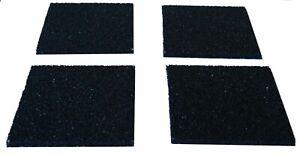 Antivibrationsmatte 4 St Pads 10x10x 0,6cm 2.Wahl Antirutschmatte Waschmaschine