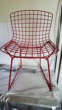 VINTAGE HARRY BERTOIA/ KNOLL AMERICAN MODERN WIRE LATTICE CHILDS/BABY CHAIR