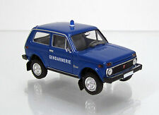 Brekina 27229 Lada NIVA WAS 2121 Gendarmerie Polizei Frankreich Scale 1 87 NEU