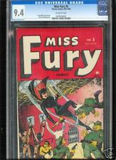 Miss Fury #5  CGC  9.4  NM  Universal CGC #0078040002