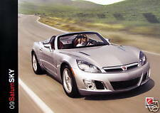 2009 Saturn Sky roadster new vehicle brochure