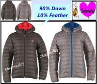 ※095* RRP£74* 90%Down Mens Thin & Light Weight Down Puffa Coat/Jacket L / XL