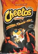 2 Bags XXTRA Flamin' Hot Cheetos 3.5 oz Crunchy Flamin' Hots and The Playoffs