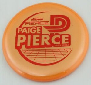 NEW Paige Pierce Fierce 173-174g Tour Series Discraft Golf Discs at Celestial