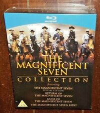 Magnificent Seven 4-Pack (Blu-ray Disc, 2013, 4-Disc Set)