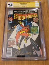 Spider-Woman #1 CGC SS 9.8/WP - Origin - Signed by Joe Sinnot - HOT!!