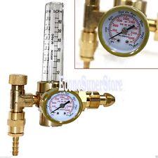 Lot TWO  Argon CO2 Gas Mig Tig Flow Meter Welding Weld Regulator Gauge CGA580