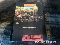 Donkey Kong Country 2 Diddy's Quest (SNES Super Nintendo) Manual Only... NO GAME