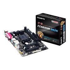 SEALED! GIGABYTE F2A68HM-DS2H FM2+ AMD A68H 4x SATA 6Gb/s USB 3.0 HDMI Micro ATX