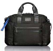 With Tag Tumi Alpha 2 Brooks Slim Ballistic Nylon Black Briefcase