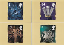 (05781) GB PHQ Postcards Wales Pictorials D13 1999 mint
