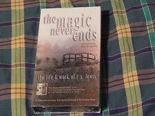The Magic Never Ends: The Life and Work of C.S. Lewis (VHS) Chronicles of Narnia