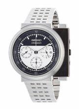 Seiko Spirit Black/White Men's Watch - SCED039