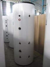 Stainless steel buffer tank cylinder WITH COIL 300L