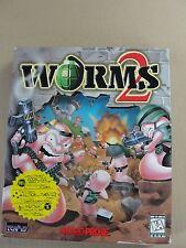 Worms 2 PC 1997 Original Big Box