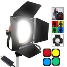 LED Redhead 650W Dimmable Continuous Spotlight Photo Studio Light Gels Kit UK