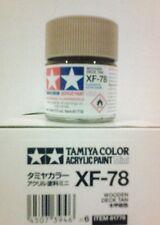 Tamiya acrylic paint XF-78 Wooden deck tan. 10ml Mini.