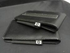 LOT of 2 Black Leather HP Cases for iPAQ Pocket PC & PDAs