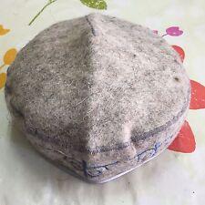 Kazakhstan Traditional Handmade Felt Hat Cap Tubeteika Embroidered Unisex E207