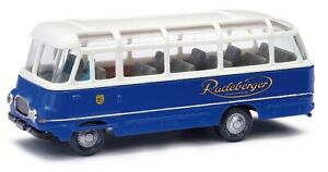 Busch 95716 - 1/87 Robur Lo 2500 Bus - Radeberger - Neuf