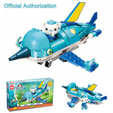 The Octonauts Swordfish Vehicle+Barnacles Kids Toy Building Block Juggle 116pcs