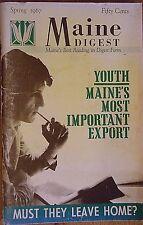 MAINE DIGEST~SPRING 1967~HARD TO FIND