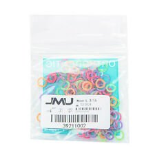100pcs Jmu Dental Orthodontic Intra Oral Elastic Bands Neon Made In Usa