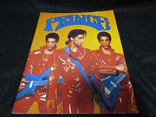 Prince 1990 Japan Tour Book Concert Program with Stickered Ticket Stub