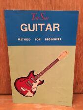 Vintage 70's Telestar Guitar Method For Beginners Instruction Booklet Pamphlet